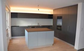 Umbau Zweifamilienhaus Düdingen